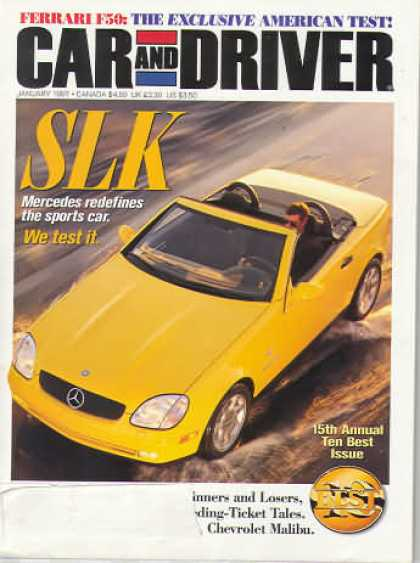 Car and Driver - January 1997