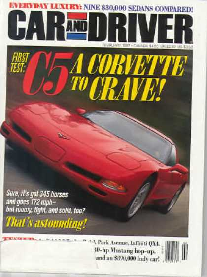 Car and Driver - February 1997