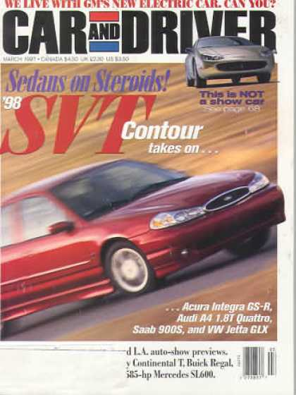 Car and Driver - March 1997