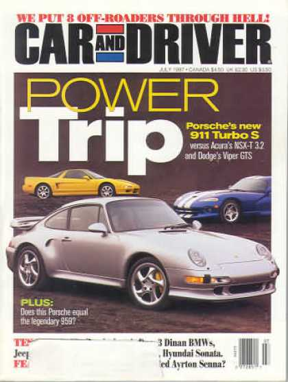 Car and Driver - July 1997