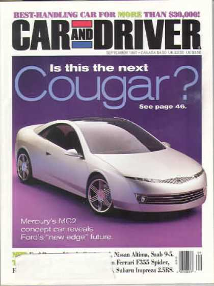 Car and Driver - September 1997