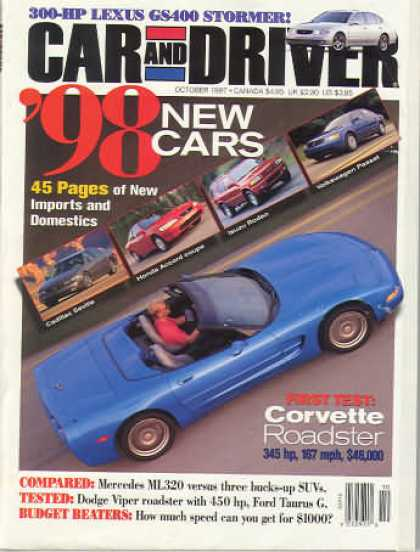 Car and Driver - October 1997