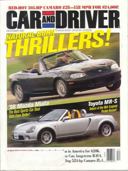 Car and Driver - December 1997