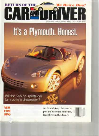 Car and Driver - February 1998