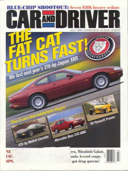 Car and Driver - July 1998