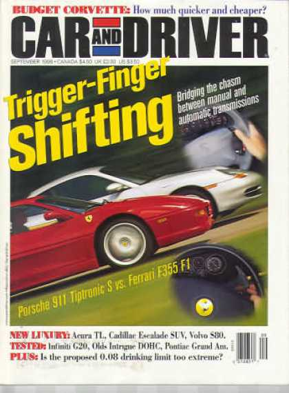 Car and Driver - September 1998