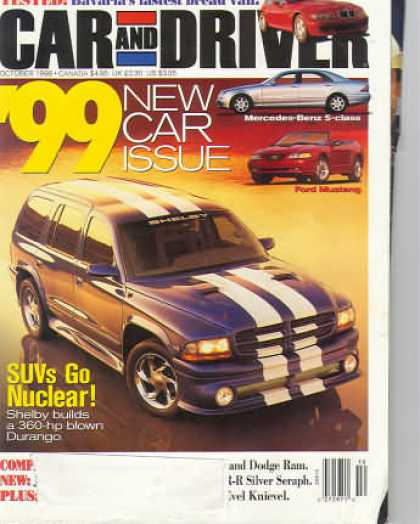 Car and Driver - October 1998
