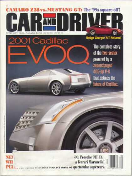 Car and Driver - February 1999