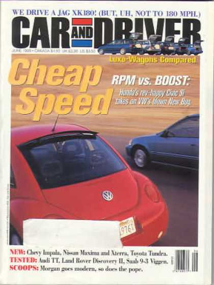 Car and Driver - June 1999