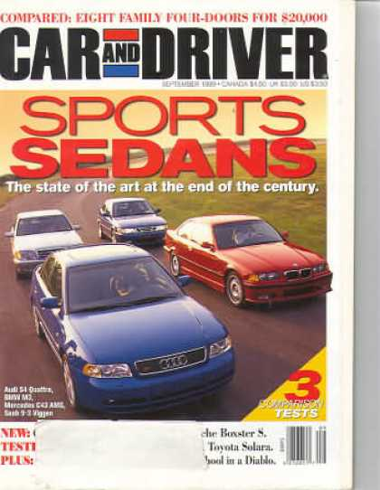Car and Driver - September 1999