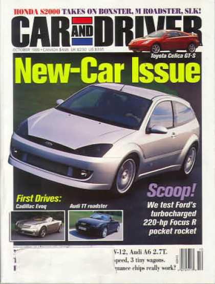 Car and Driver - October 1999