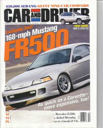 Car and Driver - February 2000