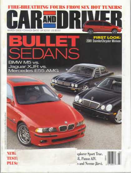 Car and Driver - March 2000
