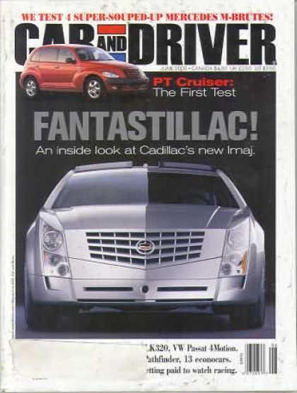 Car and Driver - June 2000