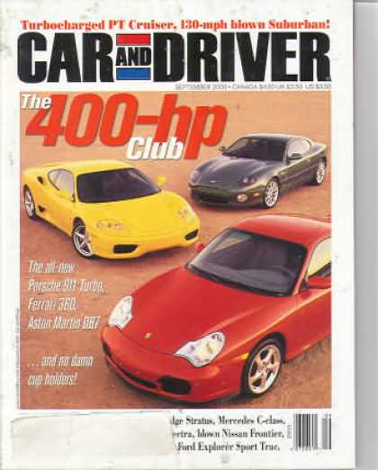 Car and Driver - September 2000