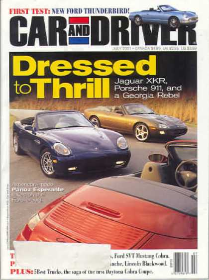 Car and Driver - July 2001