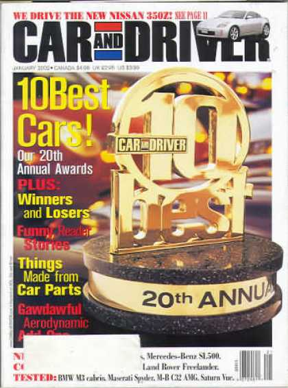 Car and Driver - January 2002