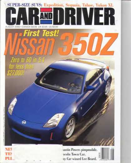 Car and Driver - August 2002