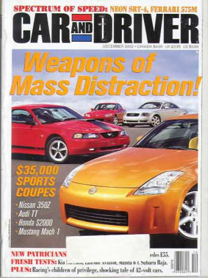 Car and Driver - December 2002