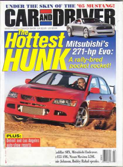 Car and Driver - March 2003