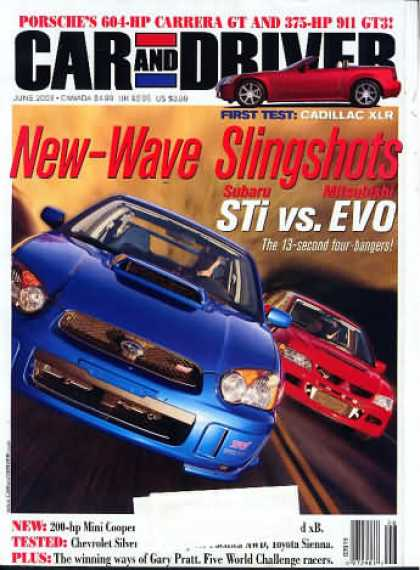 Car and Driver - June 2003