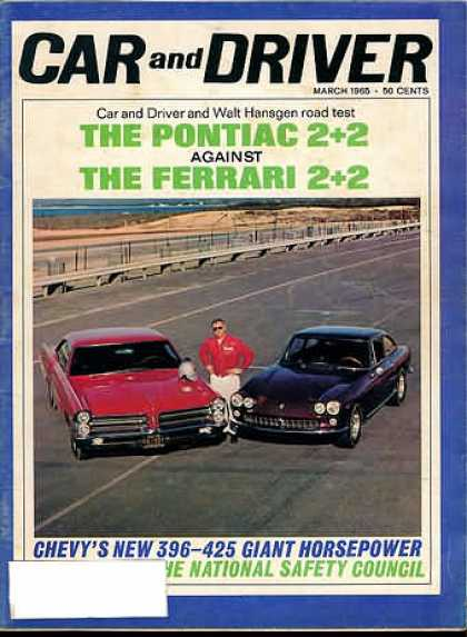 Car and Driver - March 1965