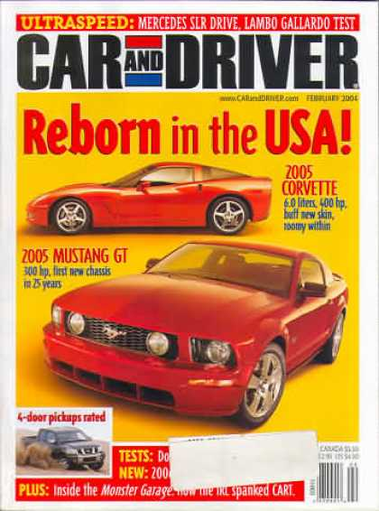 Car and Driver - February 2004