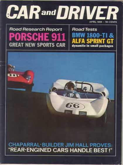Car and Driver - April 1965