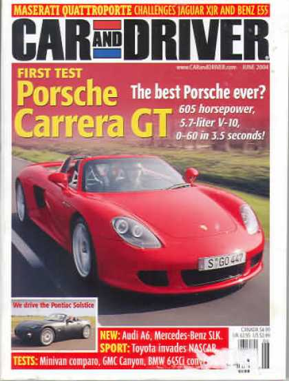 Car and Driver - June 2004