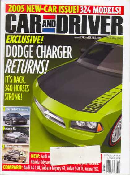 Car and Driver - October 2004