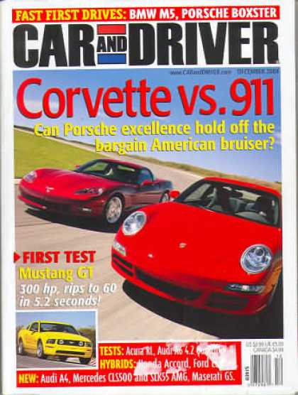 Car and Driver - December 2004