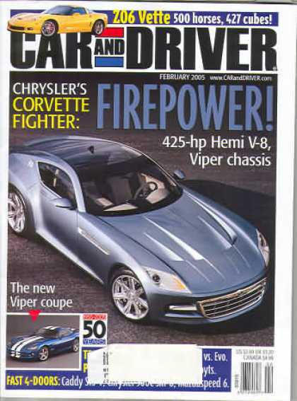 Car and Driver - February 2005