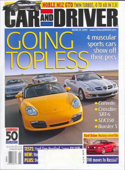Car and Driver - March 2005