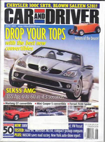 Car and Driver - June 2005