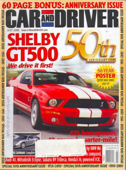 Car and Driver - July 2005