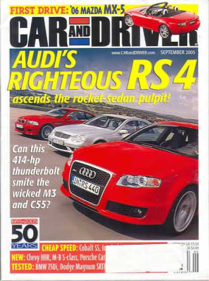 Car and Driver - September 2005