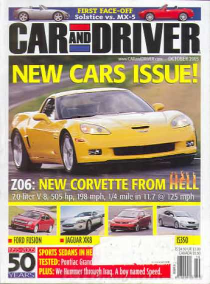 Car and Driver - October 2005