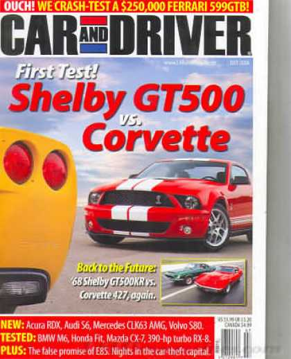 Car and Driver - July 2006