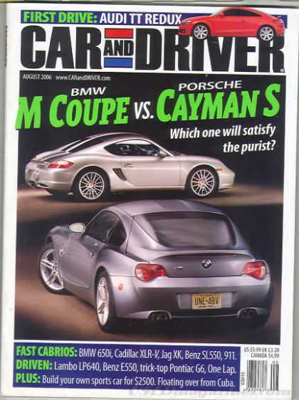 Car and Driver - August 2006