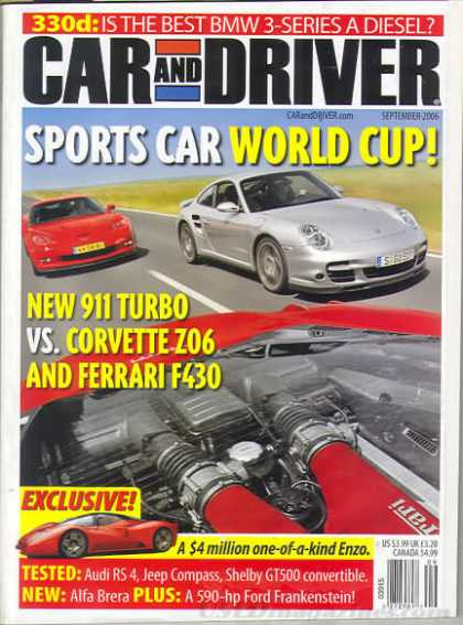 Car and Driver - September 2006