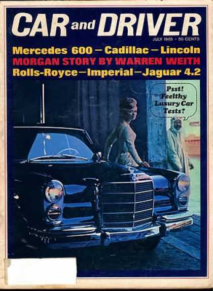 Car and Driver - July 1965