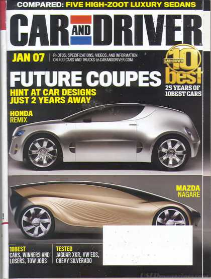 Car and Driver - January 2007
