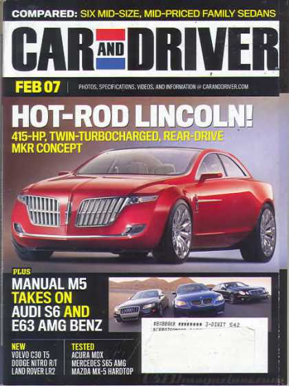 Car and Driver - February 2007