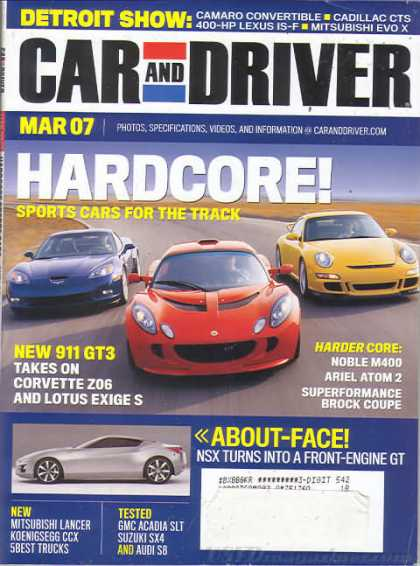 Car and Driver - March 2007