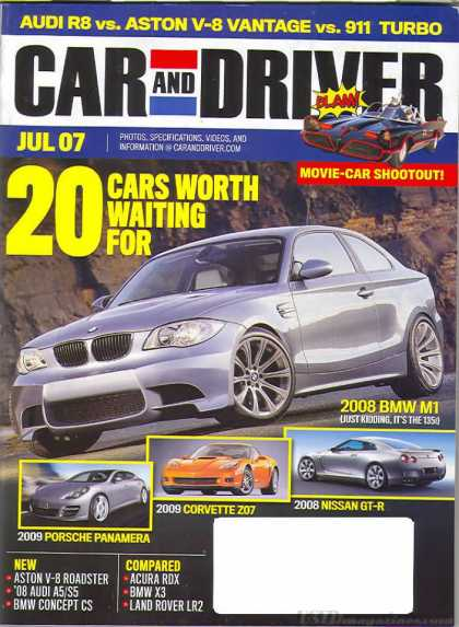 Car and Driver - July 2007