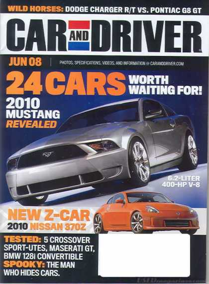 Car and Driver - June 2008