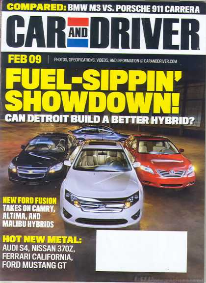 Car and Driver - February 2009