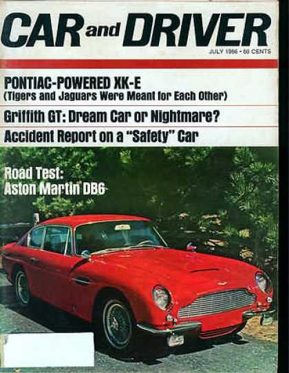 Car and Driver - July 1966