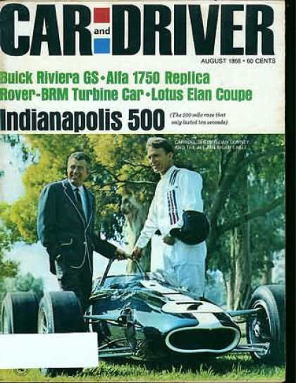 Car and Driver - August 1966
