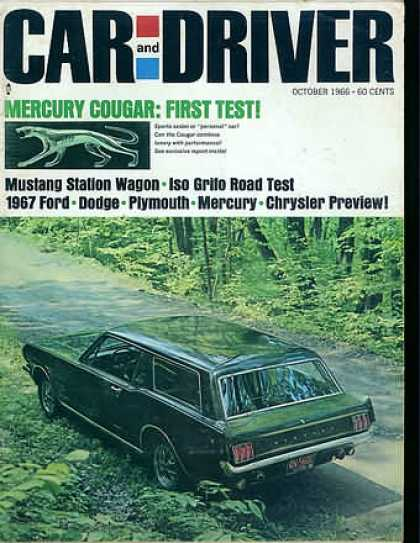 Car and Driver - October 1966